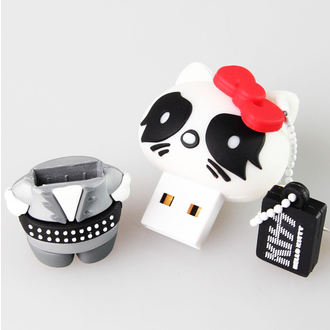 bliskavica disk USB 8GB (obesek) KISS - HELLO KITTY - The Catman, HELLO KITTY, Kiss