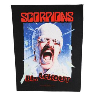 Veliki našitek Scorpions - Blackout - RAZAMATAZ, RAZAMATAZ, Scorpions