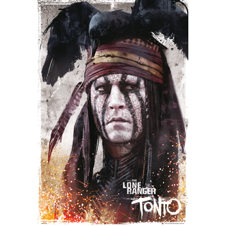 plakat Lone Ranger - Tonto, NNM