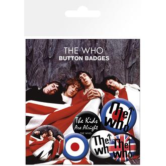 značke The Who - Lyrics And Logos, Who