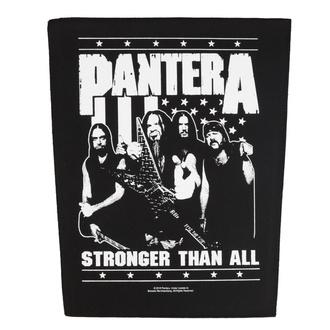 Veliki našitek Pantera - Stronger Than All - RAZAMATAZ, RAZAMATAZ, Pantera