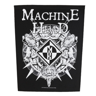 Veliki našitek Machine Head - Crest - RAZAMATAZ, RAZAMATAZ, Machine Head