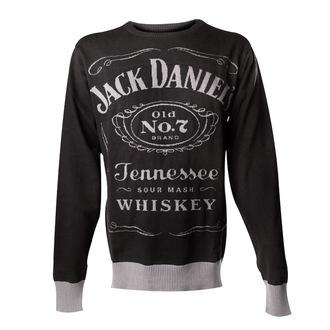 Moški pulover Jack Daniels - Knitted Sweater - Črn - BIOWORLD, JACK DANIELS