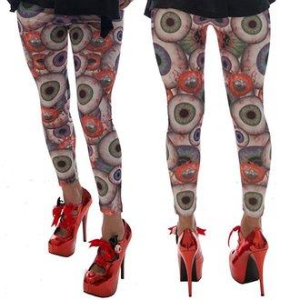 hlače ženske (gleženj) KREEPSVILLE SIX SIX SIX - Eyesore, KREEPSVILLE SIX SIX SIX