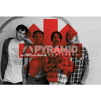 plakat Red Hot Chili Peppers - Red Asterix - PYRAMID POSTERS, PYRAMID POSTERS, Red Hot Chili Peppers