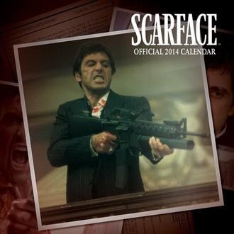 koledar 2014 Scarface - PYRAMID POSTERS, PYRAMID POSTERS