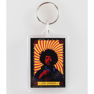 ključ prstan (obesek) Jimi Hendrix - Pyschedelic - PYRAMID POSTERS, PYRAMID POSTERS, Jimi Hendrix