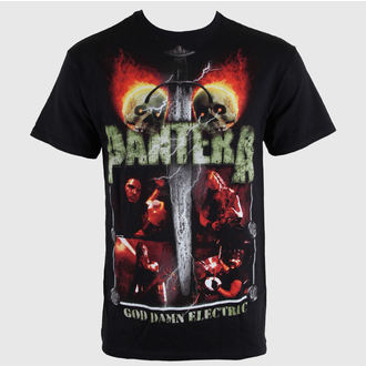 majica kovinski moški Pantera - Lightning Skulls - BRAVADO, BRAVADO, Pantera