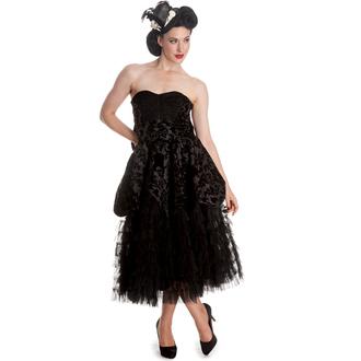 obleko ženske HELL BUNNY - Lavintage - Črno, HELL BUNNY