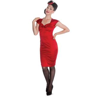 obleko ženske HELL BUNNY - Angie - rdeča, HELL BUNNY