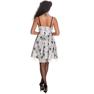 obleko ženske HELL BUNNY - Mary Jane - Bela, HELL BUNNY