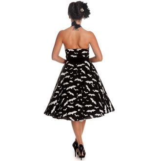 obleko ženske HELL BUNNY - Bat 50´s - Črno / bela, HELL BUNNY
