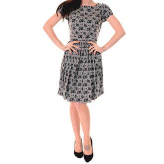 obleko ženske 3RDAND56th - Pleated Pug - Srebrna / Siva, 3RDAND56th