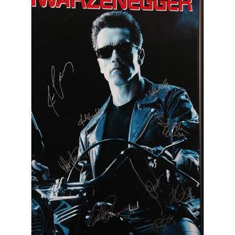 plakat z podpisov Terminator 2, ANTIQUITIES CALIFORNIA