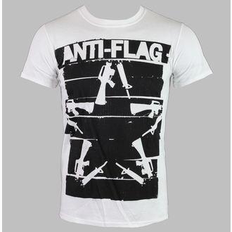 Moška metal majica Anti-Flag - Duct Tape Guns Star - Bela - KINGS ROAD, KINGS ROAD, Anti-Flag