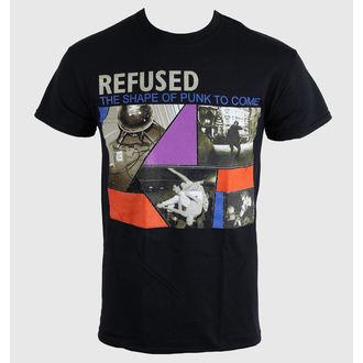 Moška majica Refused - The Shape Of Punk - Črno - KINGS ROAD, KINGS ROAD, Refused
