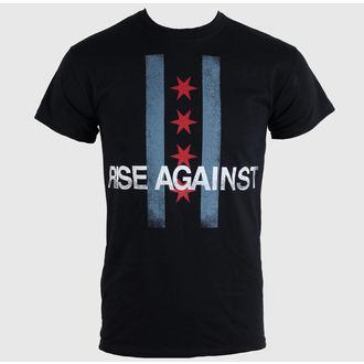 majica kovinski moški unisex Rise Against - Flag - KINGS ROAD, KINGS ROAD, Rise Against