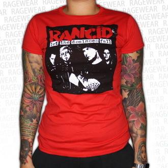 majica kovinski ženske unisex Rancid - Dominoes - RAGEWEAR, RAGEWEAR, Rancid