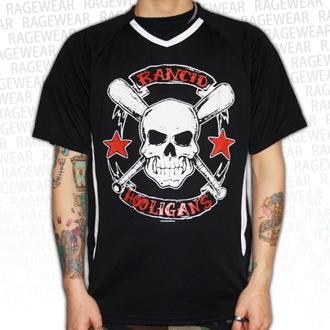 majica kovinski moški unisex Rancid - Hooligans Big Skull - RAGEWEAR, RAGEWEAR, Rancid