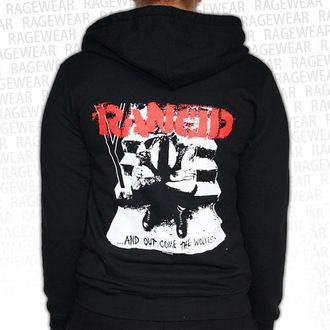jopa s kapuco ženske Rancid - Wolves - RAGEWEAR, RAGEWEAR, Rancid