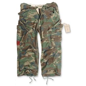 kratke hlače 3/4 moški SURPLUS - Vintage - Woodland, SURPLUS