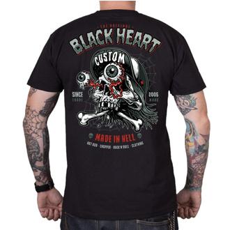 Moška ulična majica - FULL PUNK - BLACK HEART, BLACK HEART