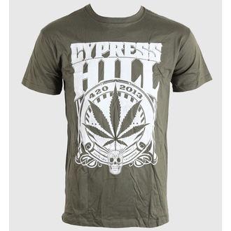 majica kovinski moški unisex Cypress Hill - 420 2013 - BRAVADO EU, BRAVADO EU, Cypress Hill