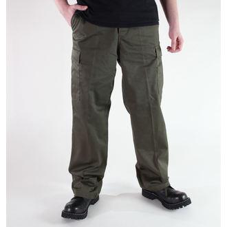hlače moški MIL-TEC - US Ranger Hose - Oljka, MIL-TEC