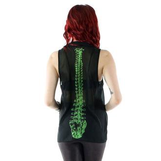 majica ženske IRON FIST - Spineless Peter Pan Collar - Črno, IRON FIST