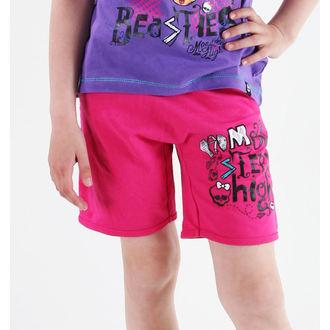 kratke hlače deviško Monster High - Pink, TV MANIA, Monster High