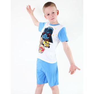 pajama fantje TV MANIA - Angry Birds / zvezda Vojne - Bela, TV MANIA