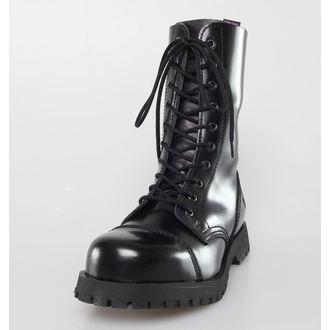 čevlji NEVERMIND - 10 očesca - Black Polido, NEVERMIND