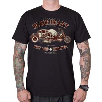 Moška ulična majica - REVELATION - BLACK HEART, BLACK HEART