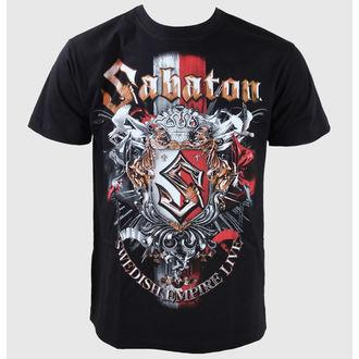 majica kovinski moški otroci Sabaton - Black - CARTON - K_427
