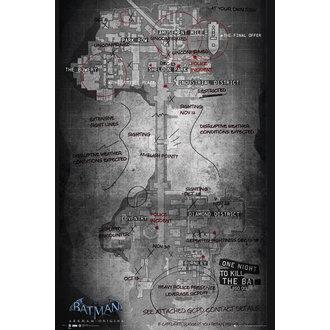 plakat Batman Izvor - Map, GB posters
