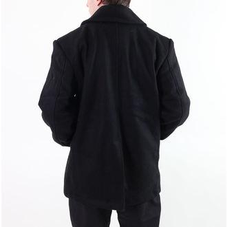 plašč moški ROTHCO - PEA COAT - BLACK, ROTHCO