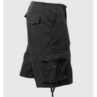 kratke hlače moški ROTHCO - VINTAGE INFANTRY - BLACK, ROTHCO