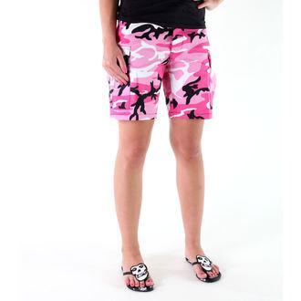 kratke hlače ROTHCO - BDU L / C - PINK CAMO, ROTHCO