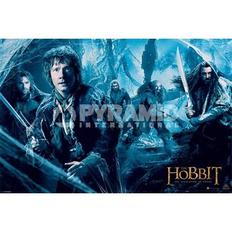 plakat Hobit - Dos - Mirkwood - PYRAMID POSTERS, PYRAMID POSTERS