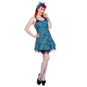 obleko ženske BANNED - Blue Skull Roses, BANNED