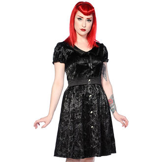 obleko ženske BANNED - Black Ivy Cross Gothic, BANNED