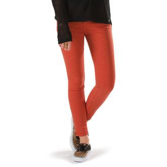hlače ženske VANS - Moto Skinny Denim - Ketchup, VANS