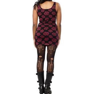 obleko ženske SOURPUSS - Omni Roses Tank - Črno, SOURPUSS
