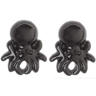 uhani SOURPUSS - Octopus - Črno, SOURPUSS