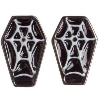 uhani SOURPUSS - Coffin - Črno / Bela, SOURPUSS