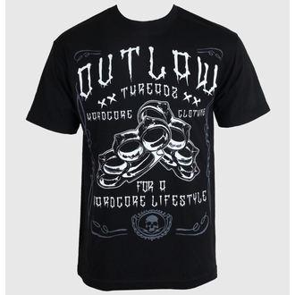 majica moški ženske unisex - Hardcore - OUTLAW THREADZ, OUTLAW THREADZ