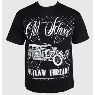 majica moški ženske unisex - Old School - OUTLAW THREADZ, OUTLAW THREADZ