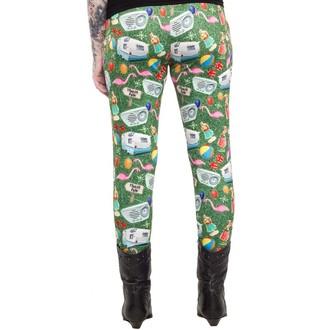 hlače (gleženj) ženske SOURPUSS - Trailer Park - Multi Barve, SOURPUSS