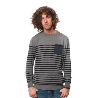 pulover moški Horsefeathers - SPIN - Siva Melange