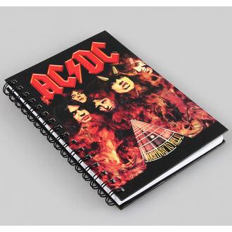 pisanje notepad AC / DC, AC-DC